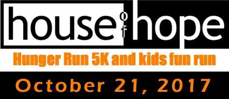 House of Hope Hunger Run logo 2017
